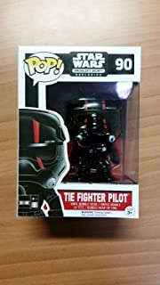 Star Wars Tie Fighter Pilot Red Stripe POP! Figure Smugglers Bounty Exclusive 90 by Unknown