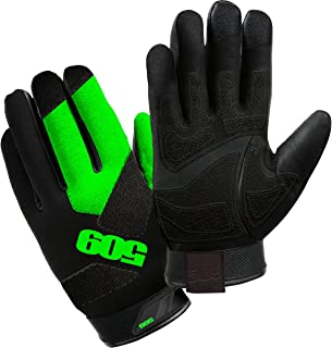 509 Factor Snowmobile Gloves (Large) (Lime)