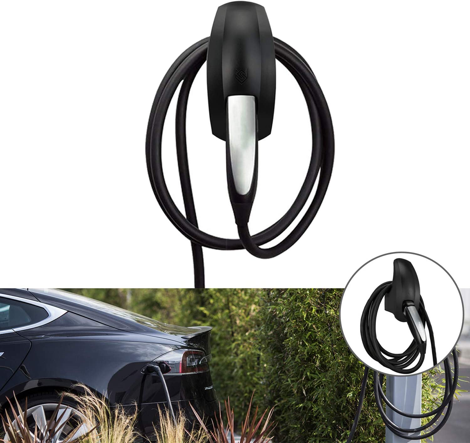 Seven Sparta Charging Cable Holder Organizer for Model Popular brand in the world 3 Tesla M Popular overseas