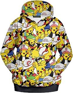 Best pikachu hoodie anime Reviews