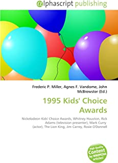 1995 Kids' Choice Awards: Nickelodeon Kids' Choice Awards, Whitney Houston, Rick Adams (television presenter), Mark Curry  (actor), The Lion King, Jim Carrey, Rosie O'Donnell