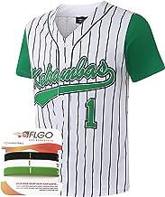AFLGO G-Baby #1 Jarius Evans Hardball Kekambas Men's Movie Baseball Jersey M-XXXL, Stitched Clothing Throwback, Top Bonus Combo Set with Wristbands