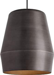 LBL Lighting 700TDALEFG Allea - One Light Line-Voltage Pendant, Fossil Gray Finish