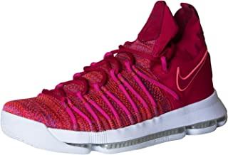 Nike Mens Zoom KD 9 Basketball Shoe 10.5 Men US University Red/Palest Purple