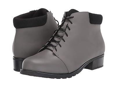 Trotters Becky Low (Grey/Black) Women