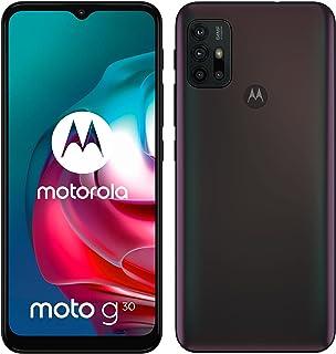Motorola Moto G30 Dual-SIM 128GB Factory Unlocked 4G/LTE Smartphone (Dark Pearl/Black) - International Version