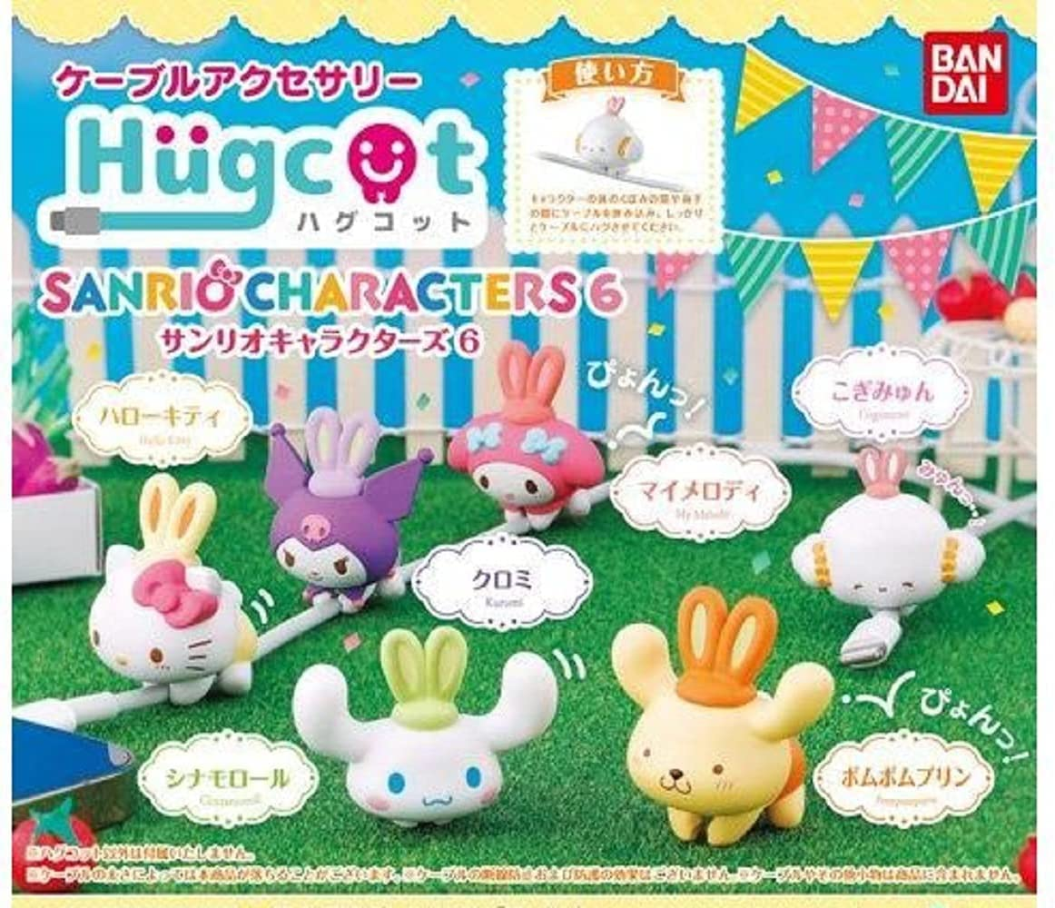Sanrio Characters Mascot Hugcot 6 Figure~Hello Kitty