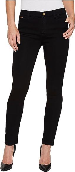 Ivanka Trump Denim Skinny Jeans in Black
