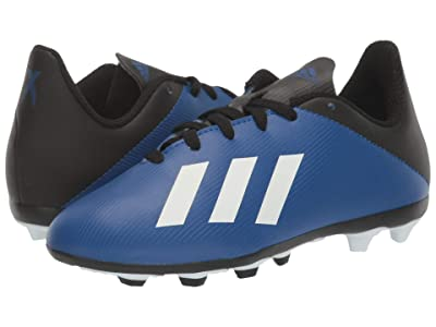 adidas Kids X 19.4 FxG J Soccer (Little Kid/Big Kid) (Team Royal Blue/White/Black) Kids Shoes