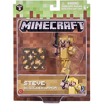 T5W 6022578 Minecraft Personaggio Creeper in plastica Alto 15 cm