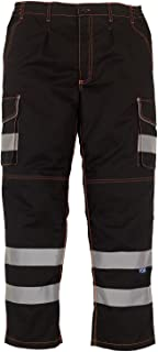 cotton hi vis trousers