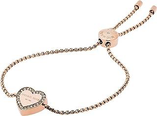 دستبند لغزنده آویز رز طلایی - آویز مایکل کورس