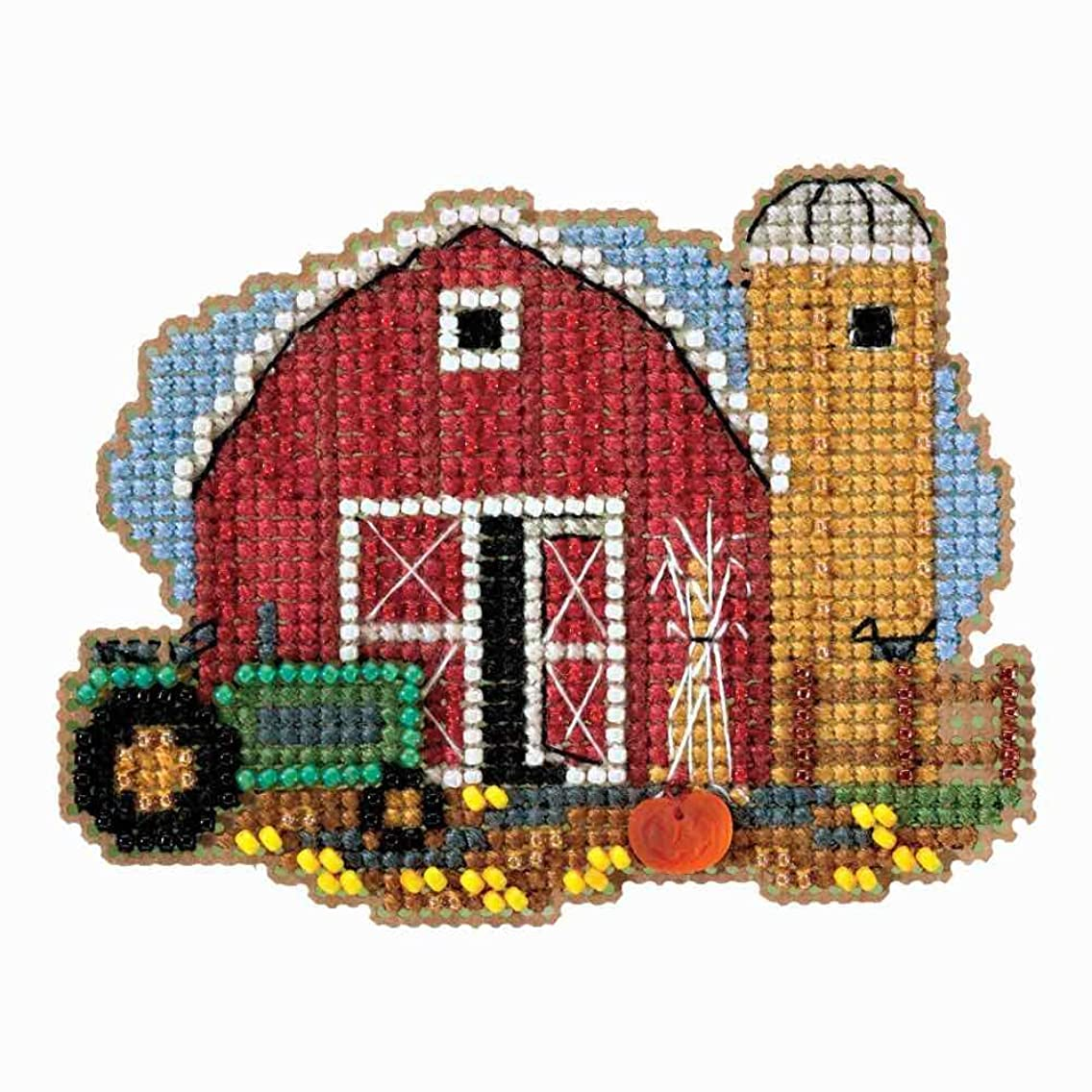 Mill Hill Harvest Barn Beaded Counted Cross Stitch Ornament Kit 2018 Autumn Harvest MH181821