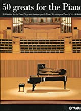 Best 50 greats for the piano yamaha book Reviews