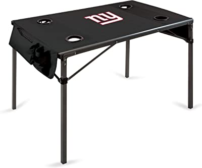 NFL Portable Soft Top Travel Table, Black