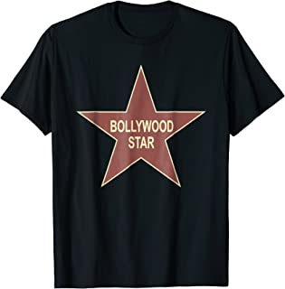 Bollywood Star Funny Indian Movie Actor Actress Fan T-Shirt