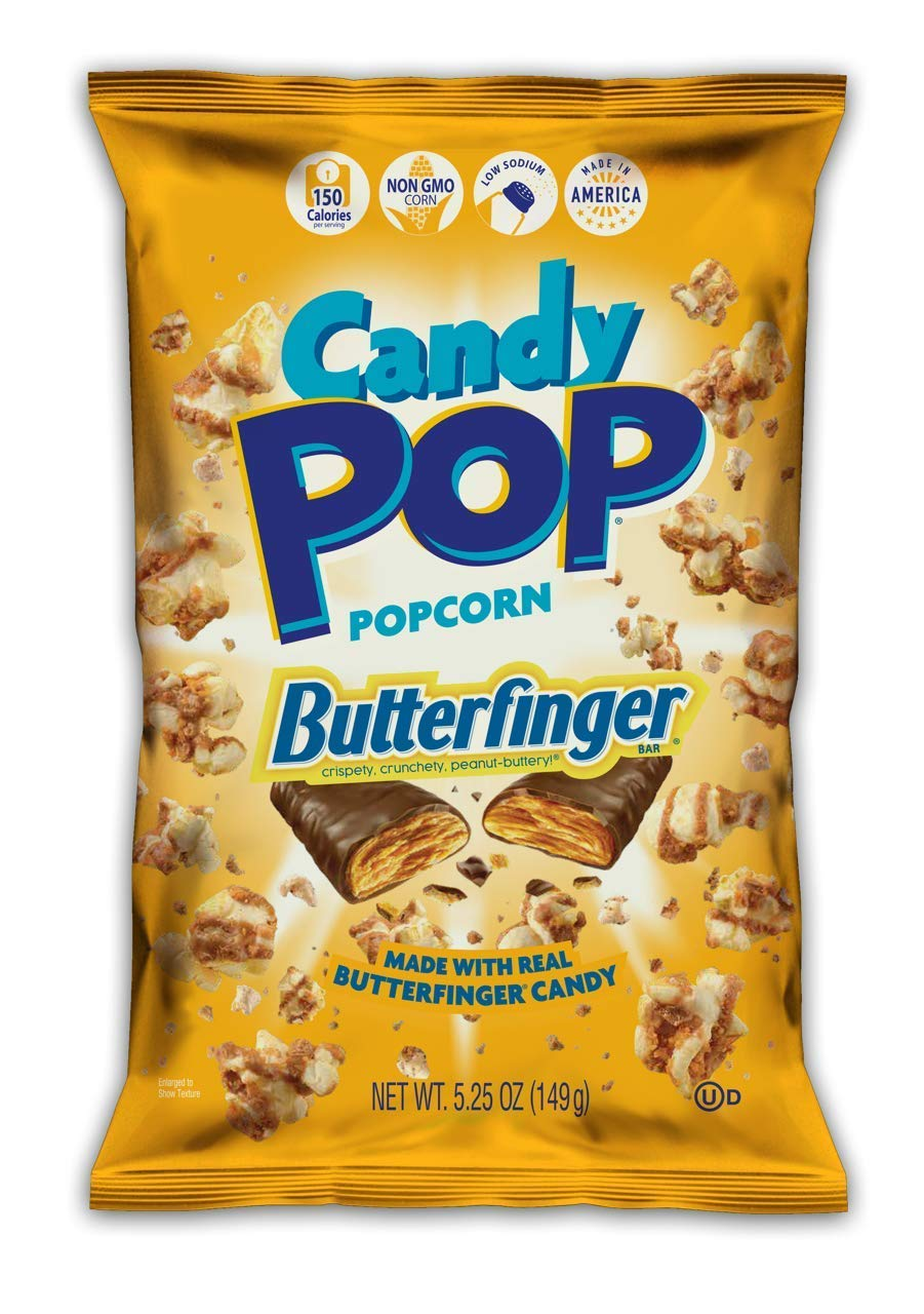 Snack Pop Butterfinger Classic Candy Coated Popcorn Real with Made Special price