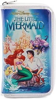 Ariel The Little Mermaid VHS Zipper Wallet Clutch Purse
