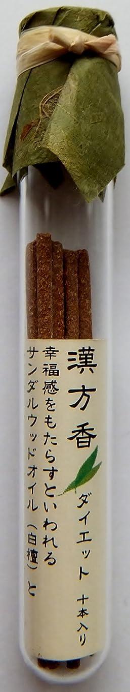 代表団トロイの木馬構想する悠々庵 漢方香(細ビン)ダイエット