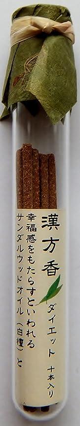 プレート繁雑蒸発する悠々庵 漢方香(細ビン)ダイエット