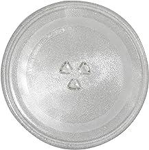 Plateau en verre de rechange pour micro-ondes, diamètre de 31,5 cm, résistant à la chaleur et à la chaleur pour four à mic...