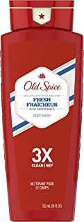 Body Wash for Men by Old Spice, Body Wash for Men, High Endurance Fresh Scent, 18 Fl Oz (Pack of 4)