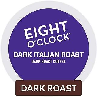 Eight O'Clock Coffee Dark Italian Roast, Single Serve Coffee K-Cup Pod, Dark Roast, 96