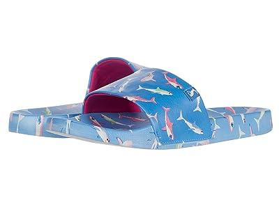 Joules Kids Poolside (Toddler/Little Kid/Big Kid) (Blue Sharks) Boys Shoes