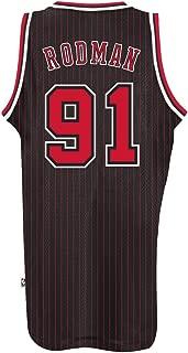 Dennis Rodman Chicago Bulls #91 Black Youth Small 8 Hardwood Classic Swingman Jersey