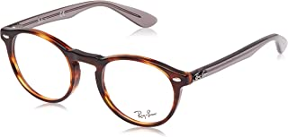 Ray-Ban Women's 0RX 5283 5607 49 Optical Frames, Brown (Striped Havana) (0RX 5283 5607 49 5607)