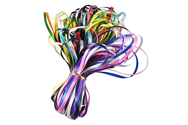 Best thin ribbons for crafts   Amazon com