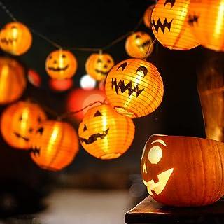 Halloween Decoratie Licht Pumpkin String Light 3m 20LED lichtketting voor Halloween met pompoen Pompoen Lichtslinger