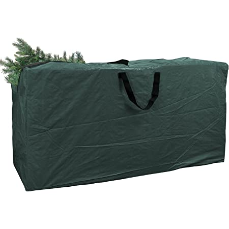 """Christmas Tree Storage Bags Large Size For 7Ft Tree Red 48/"""" X 15/"""" X 22/"""""""