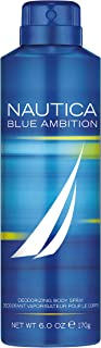 اسپری بدن و ادکلن مردانه Nautica Blue Ambition ، 6 اونس مایع