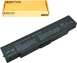 Bavvo Battery Compatible with VAIO VGN-SZ430N/B VGN-SZ432N VGN-SZ433NB VGN-SZ433N/B VGN-SZ436N/B VGN-SZ43CN