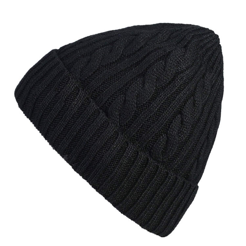 GordonKo Knitted Cap Womens Winter Hats Mens Outdoor Warm Knitting Beanie Caps Ski Cap