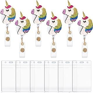 unicorn badge reel