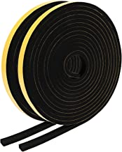EXTSUD Afdichttape voor deuren, ramen, zelfklevende schuimband, deurdichting, tegen insecten, rubberen afdichtingsband voo...