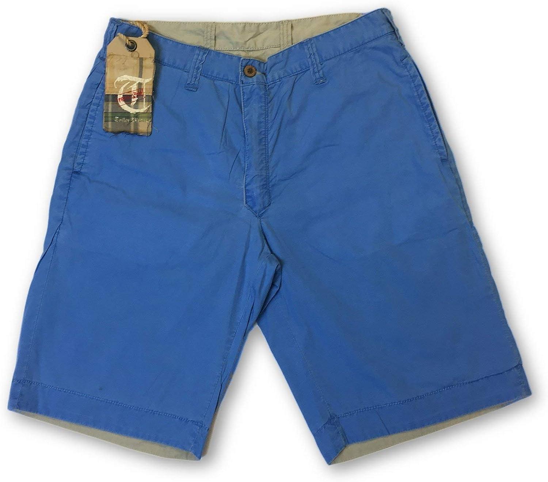 d383f8d4c3 Tailor Vintage Reversible Reversible Reversible Shorts in Plain blueee Size  W32 Cotton 0d69f1