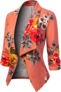 MixMatchy Women's [Made in USA] Solid Formal Style Open...