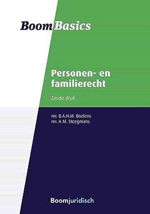 Personen- en familierecht (Boom Basics)