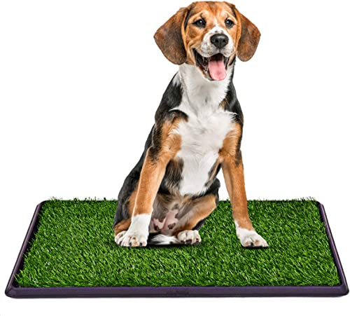 """wholesale Giantex new arrival 30""""x20"""" Puppy Pet Potty Grass Pee Pad Home Training Toilet Pad wholesale Grass Surface Dog Mat Turf Patch Indoor Outdoor sale"""