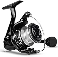 KastKing Valiant Eagle Series Spinning Reel - Bald Eagle Edition Fishing Reel, All Carbon Fiber Frame and Rotor, Never-Rust 1-Piece Bail, 6.2:1 High Speed Gear Ratio, Freshwater and Saltwater.