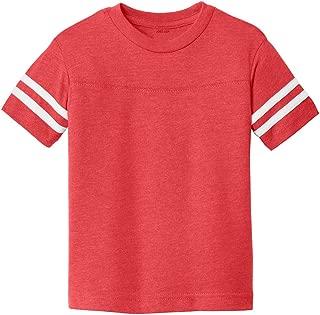 Joe's USA - Toddler Football Fine Jersey Sizes 2T-6T