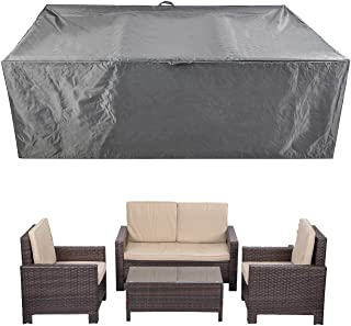 Patio Furniture Set Covers Waterproof Outdoor Table Covers Sectional Conversation Loveseat Sofa Set Covers Waterproof Durable Heavy Duty  88