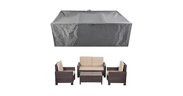 Outdoor Patio Furniture Covers Waterproof FOONEE Patio Table Cover Rectangle Waterproof Dust Proof Protective Loveseat Covers