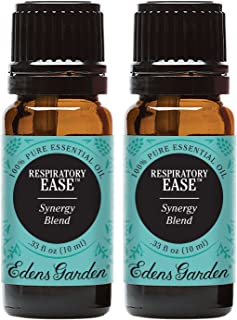 Edens Garden Respiratory Ease Essential Oil Synergy Blend, 100% Pure Therapeutic Grade (Highest Quality Aromatherapy Oil...