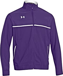 Under Armour Win It Woven Jacket, Purple/white, Medium