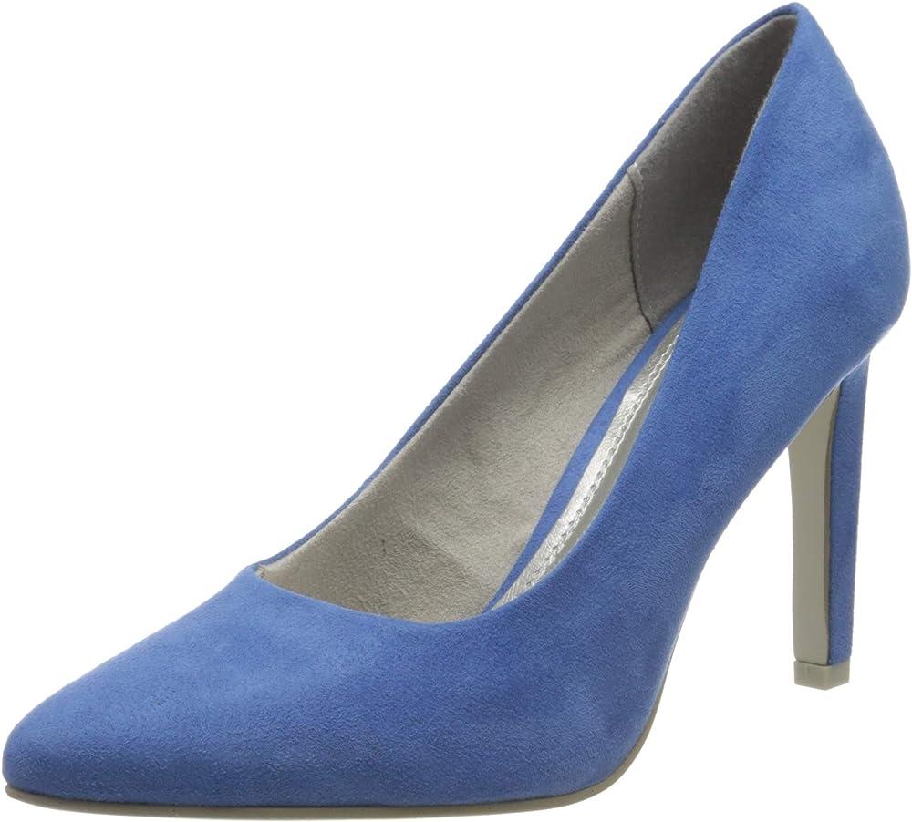 Marco tozzi ,scarpe decollete`per donna,in tela 2-2-22422-24