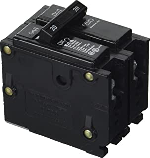 Eaton Cutler-Hammer BR220 BR-Series Circuit Breaker, 2-Pole, 120/240-VAC, 20-Amp